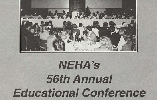 The Presidents Banquet at the 1992 AEC