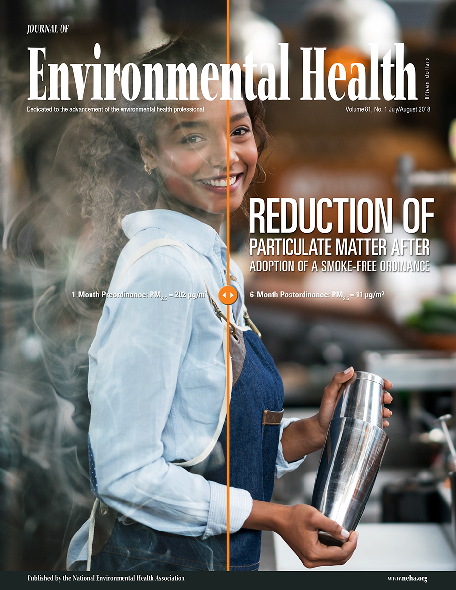 July/August 2018 Issue of the Journal of Environmental Health (JEH)