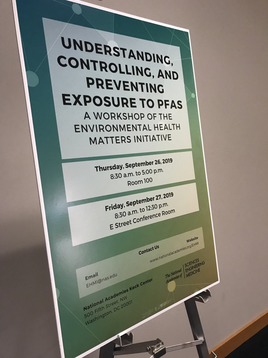 The Environmental Health Matters Initiative workshop explored how to understand, control, and prevent PFAS exposure. Photo courtesy of Dr. Natasha DeJarnett.