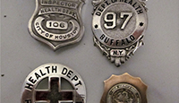 Inspector Badges From the 1940s