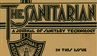 The Sanitarian, Volume 1, Issue 1