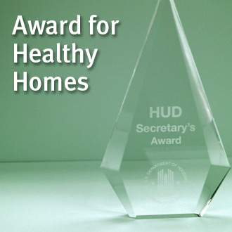 HUD Award for Healthy Homes