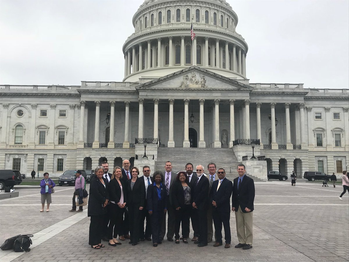 NEHA Board Members met with members of Congress at the Third Annual Hill Day