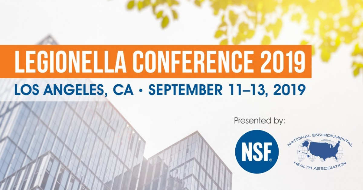 NSF International & NEHA Host the Second Annual Legionella Conference 2019
