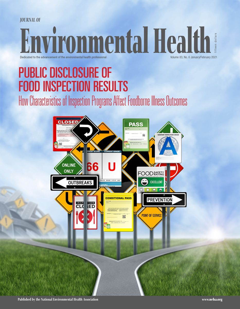 Cover Image of the January/February issue of the Journal of Environmental Health