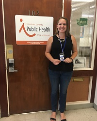 Student intern at public health department