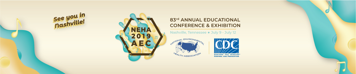 NEHA 2019 AEC in Nashville, Tennessee