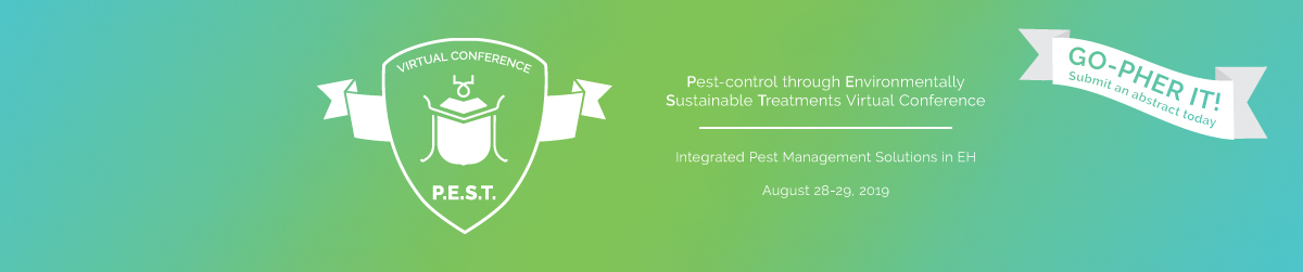 P.E.S.T. – Pest-Control through Environmentally Sustainable Treatments Virtual Conference