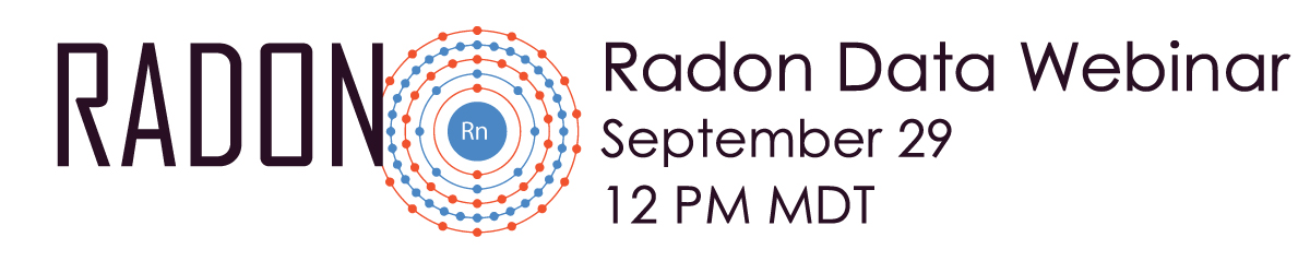 Radon Data Standardization Webinar Banner