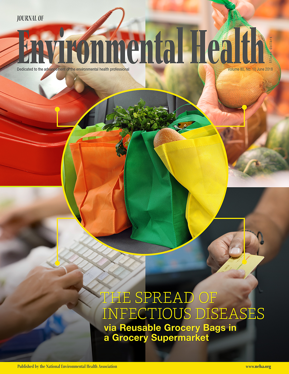 Cover of the June 2018 Journal of Environmental Health