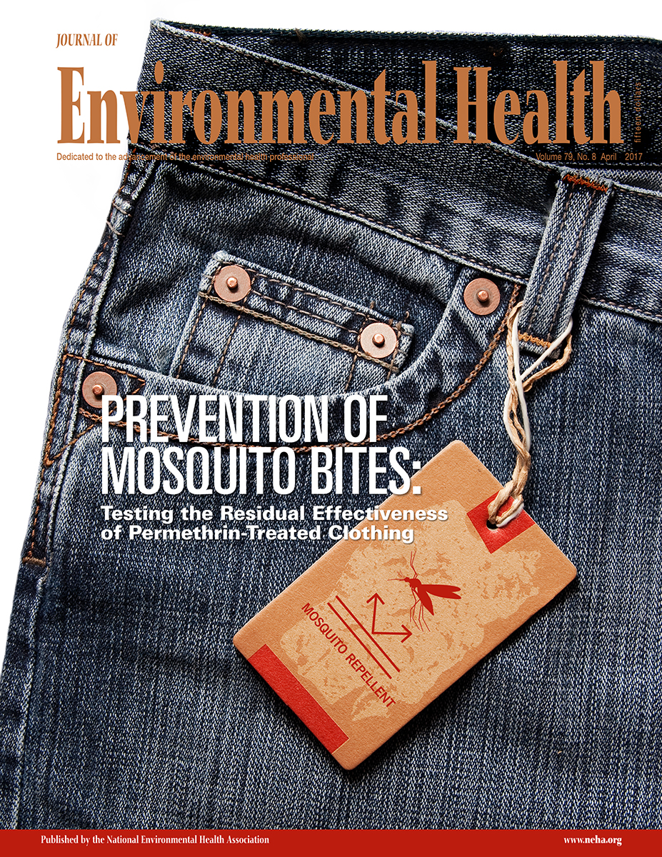 April 2017 issue of the Journal of Environmental Health