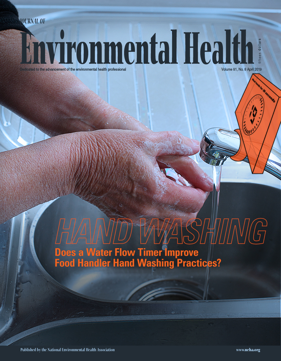 April 2019 issue of the Journal of Environmental Health