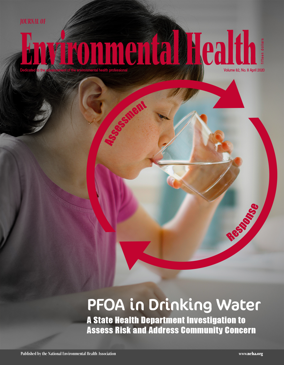 April 2020 issue of the Journal of Environmental Health