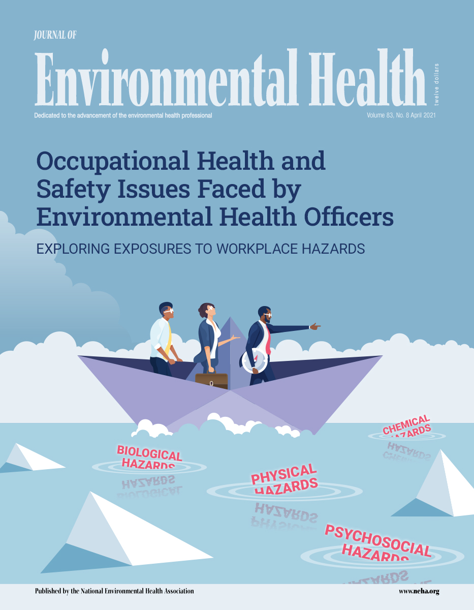 April 2021 Issue of the Journal of Environmental Health (JEH)