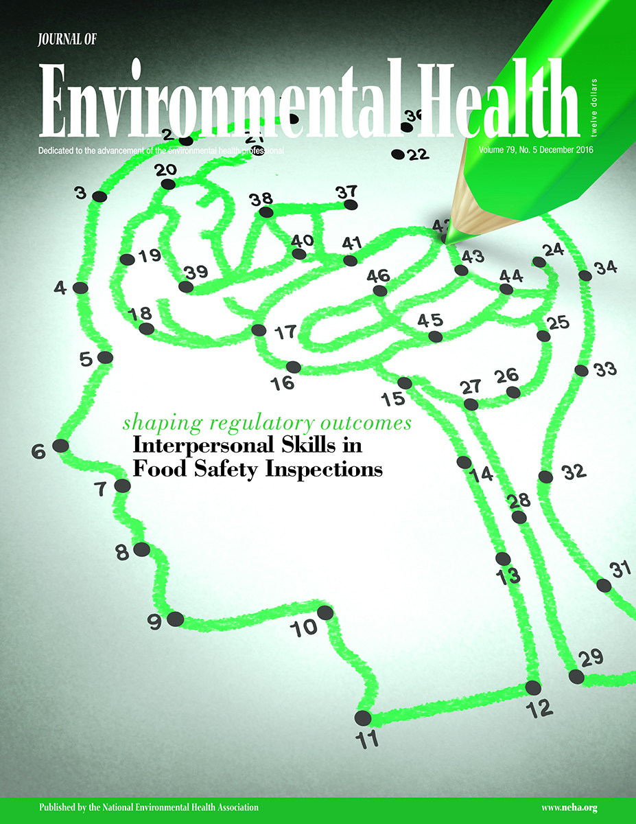 December 2016 issue of the Journal of Environmental Health