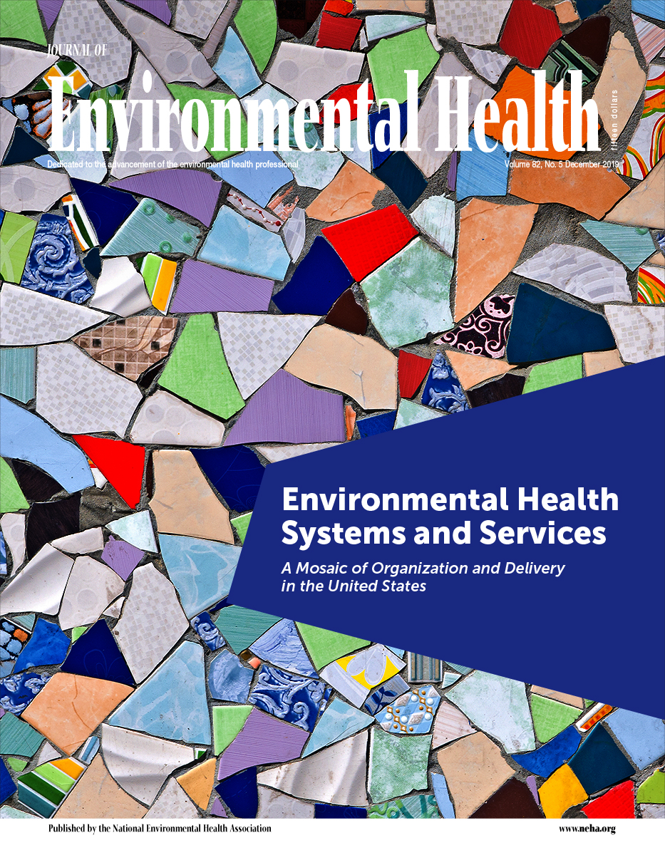 December 2019 issue of the Journal of Environmental Health