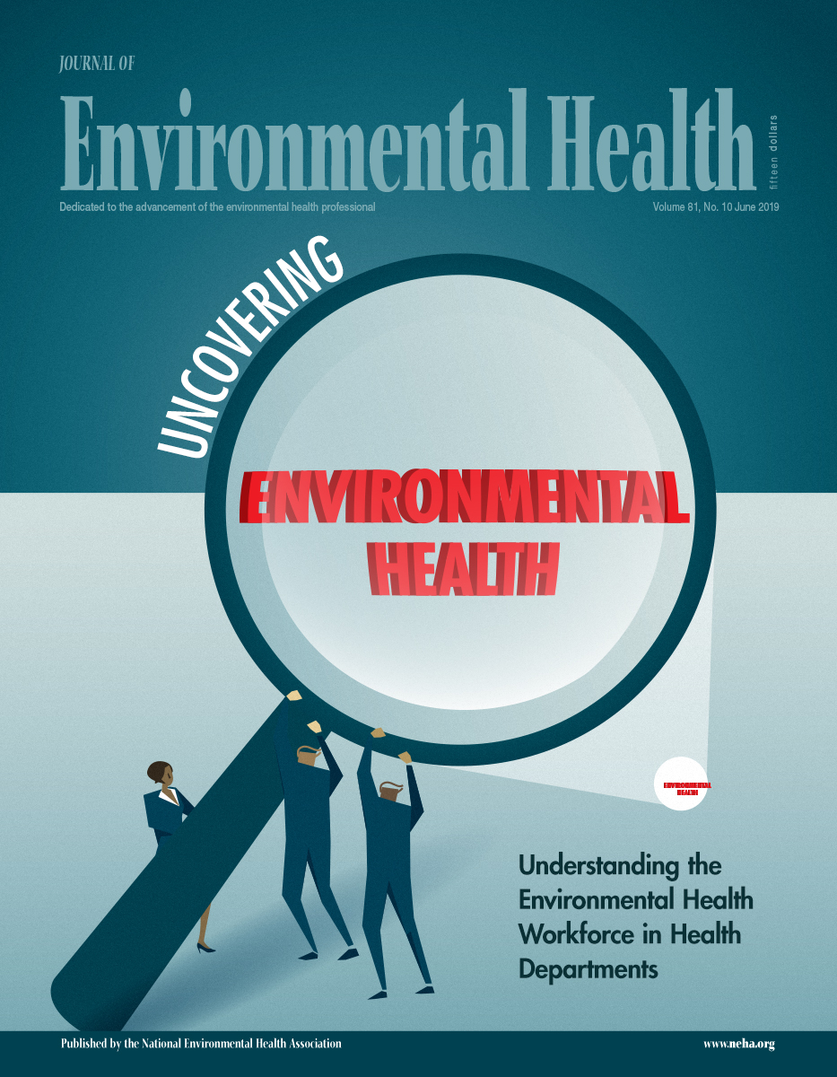 June 2019 issue of the Journal of Environmental Health