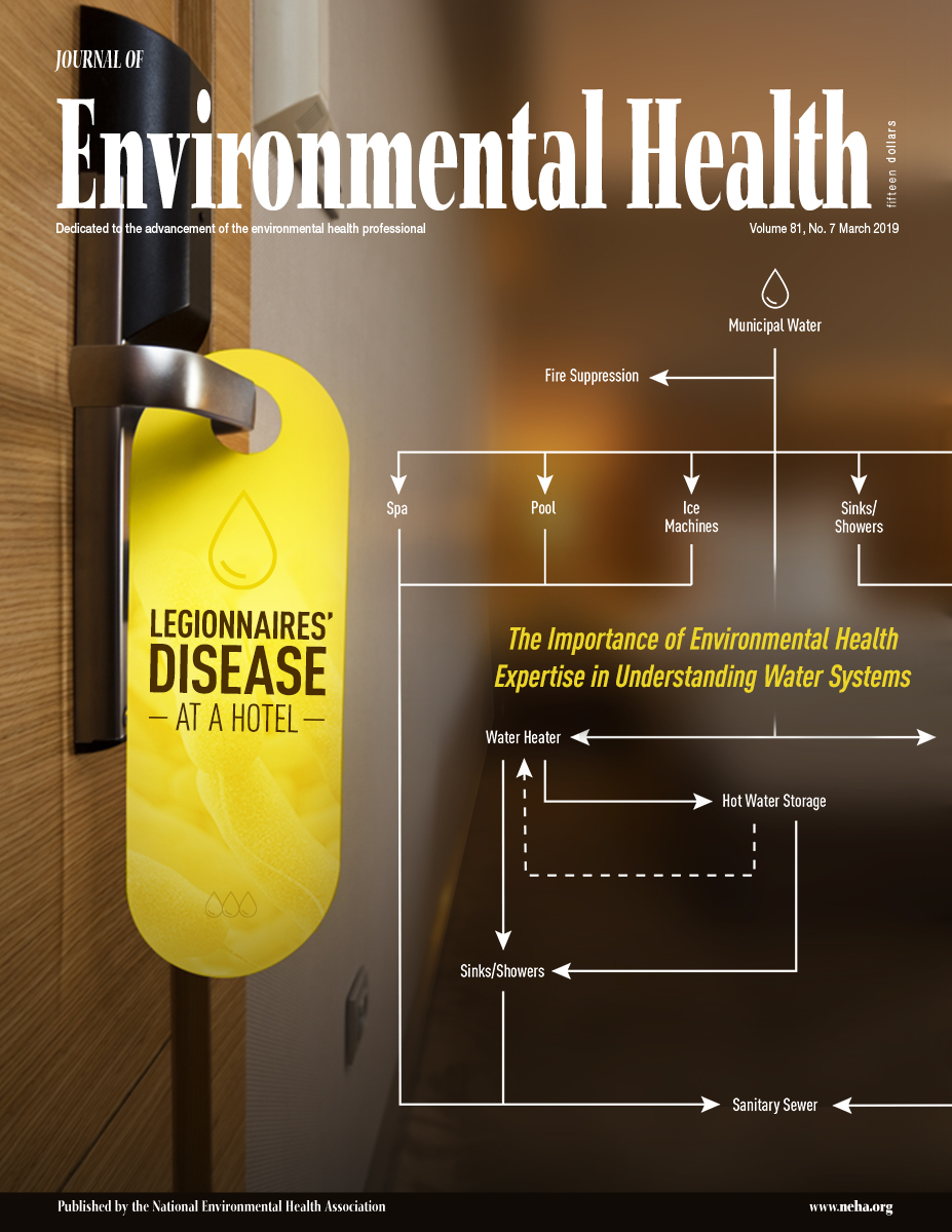 March 2019 issue of the Journal of Environmental Health