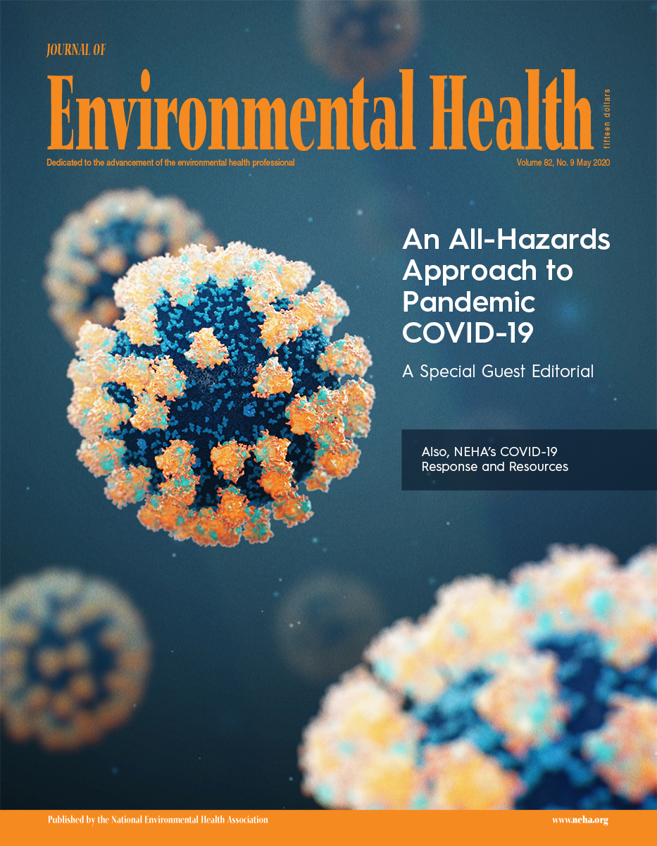May 2020 Issue of the Journal of Environmental Health (JEH)