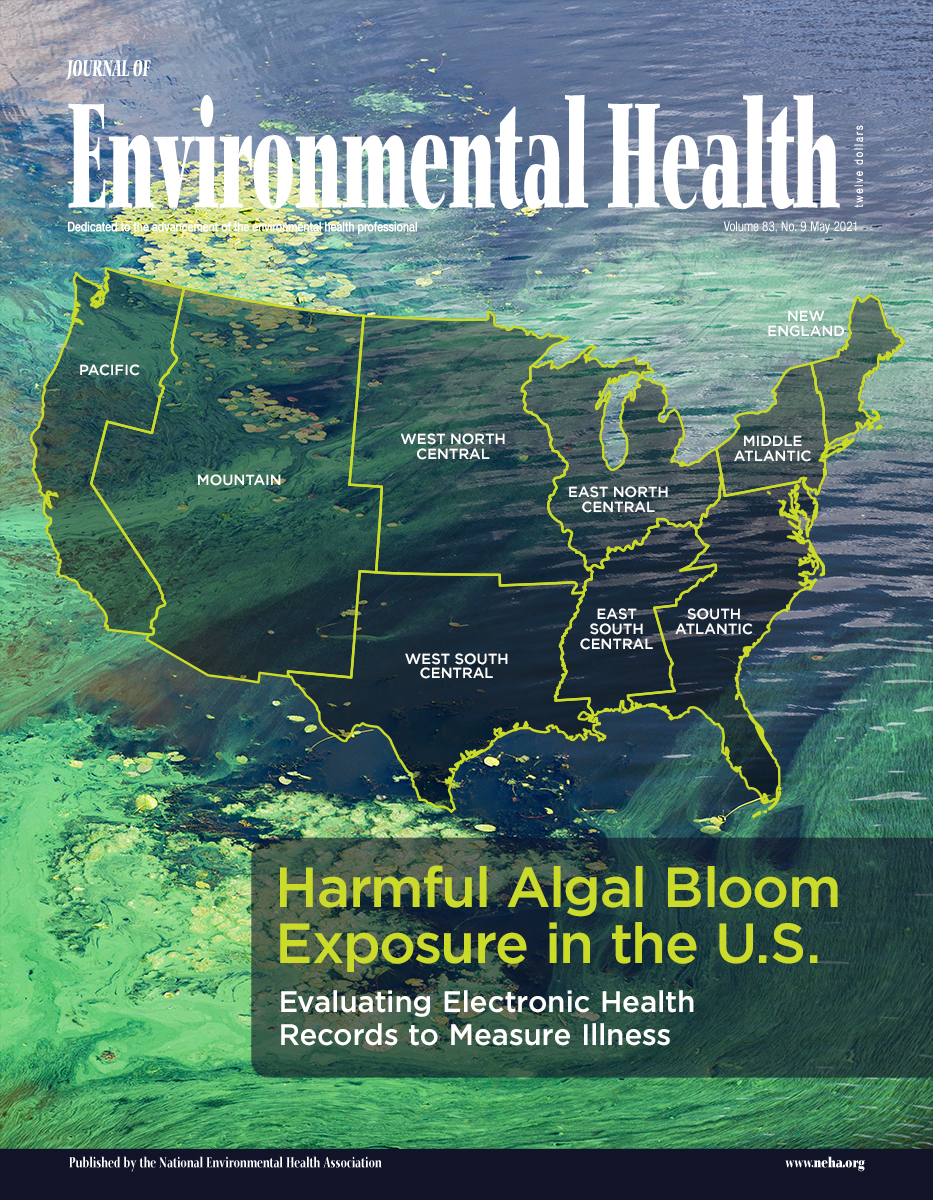 May 2021 issue of the Journal of Environmental Health