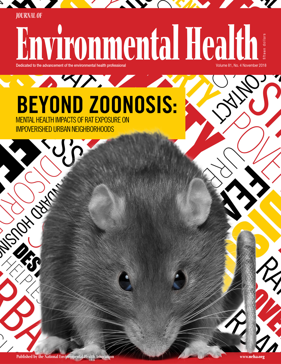 November 2018 issue of the Journal of Environmental Health (JEH)