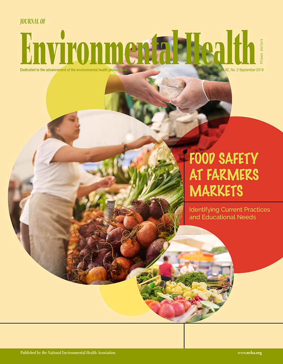 September 2019 issue of the Journal of Environmental Health (JEH)