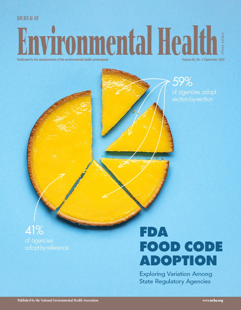 September 2020 Issue of the Journal of Environmental Health (JEH)