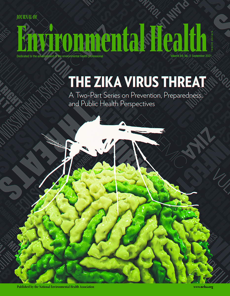 September 2021 Issue of the Journal of Environmental Health (JEH)