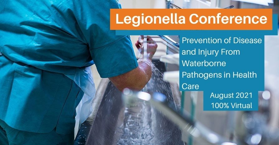 The annual Legionella Conference has been rescheduled for August 2021.