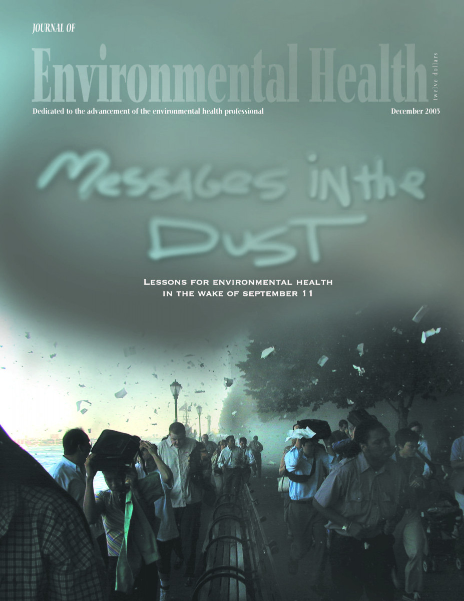December 2003 issue of the Journal of Environmental Health