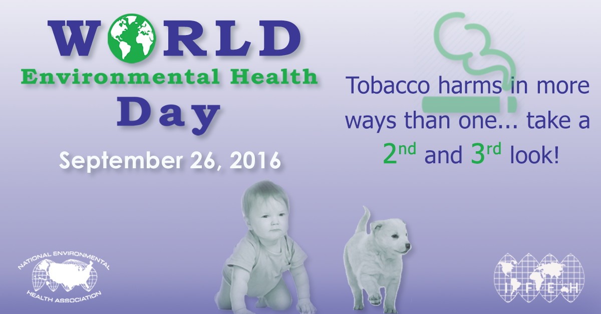 World Environmental Health Day on September 26, 2016 Graphic