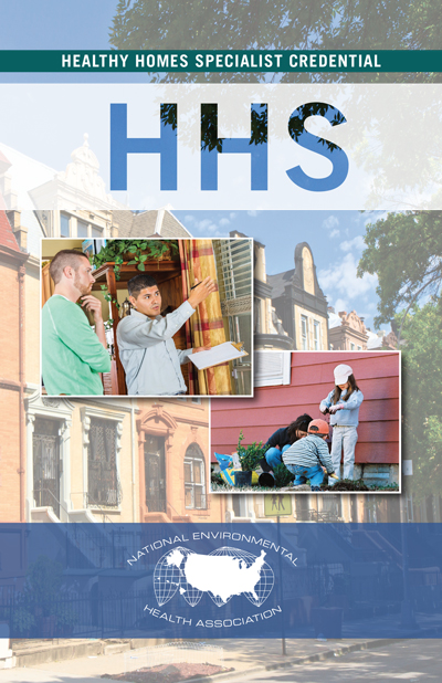 HHS Brochure: Healthy Homes Specialist working with homeowner