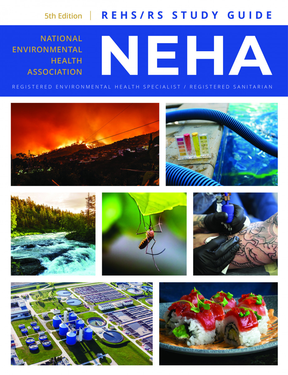 REHS/RS Study Guide, Fifth  Edition, 2021, NEHA