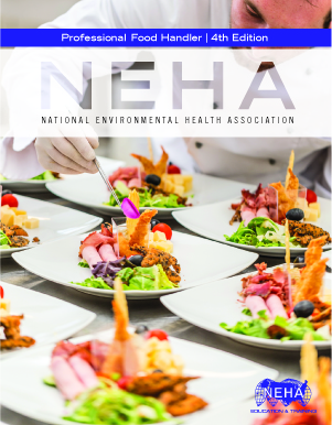 NEHA Professional Food Handler Textbook