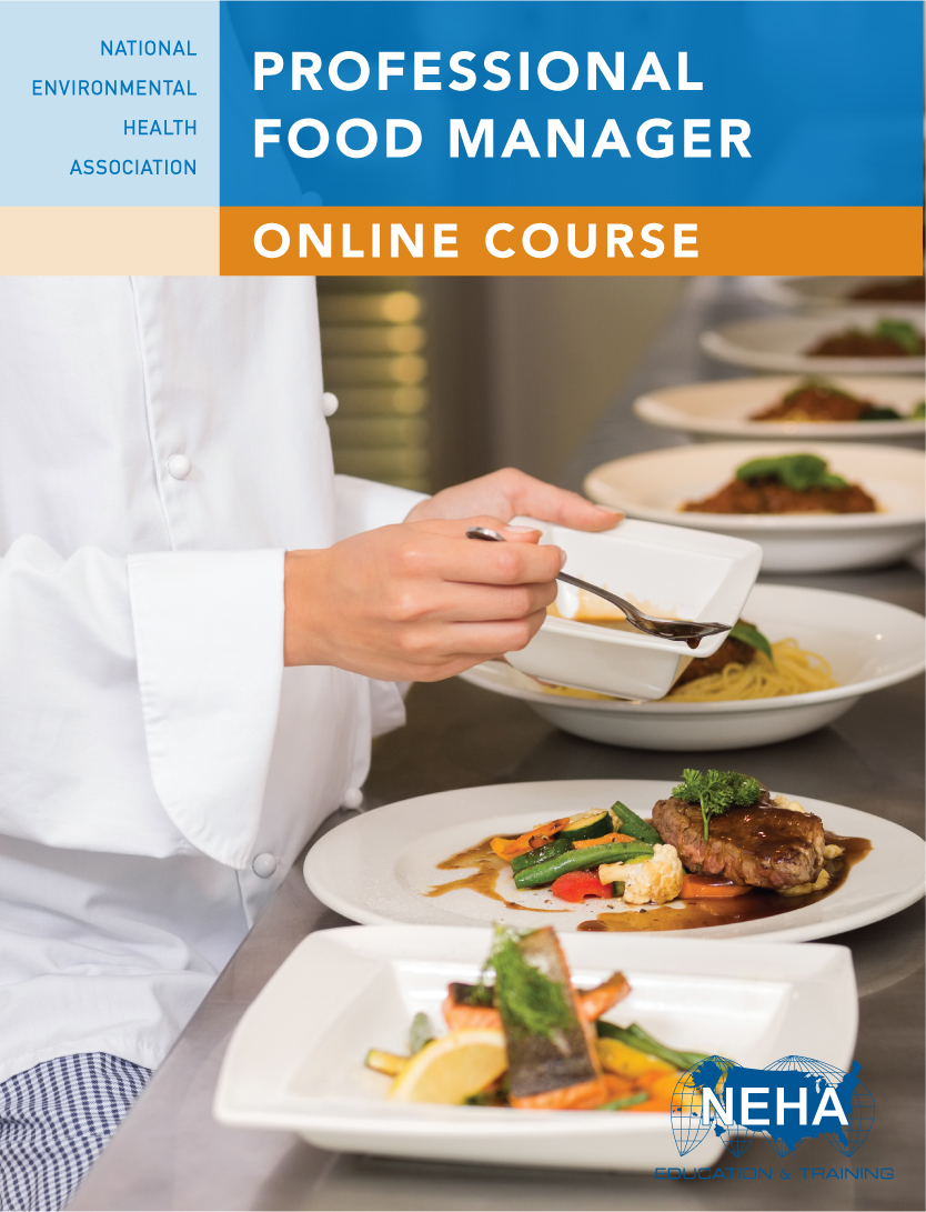 Professional Food Manager Online Course from NEHA