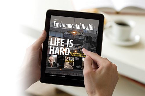 eJournal on tablet: Journal of Environmental Health (JEH)