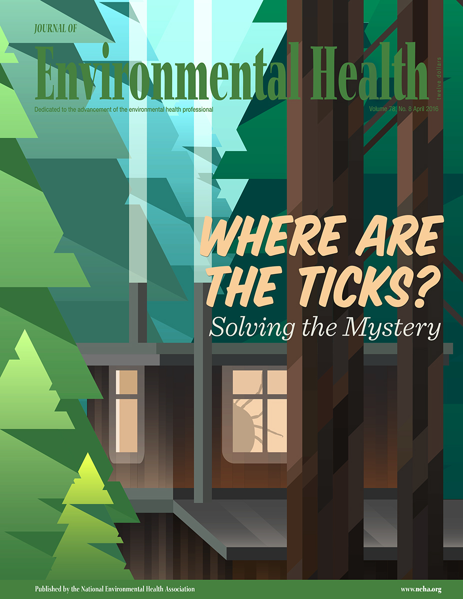 April 2016 issue of the Journal of Environmental Health (JEH)