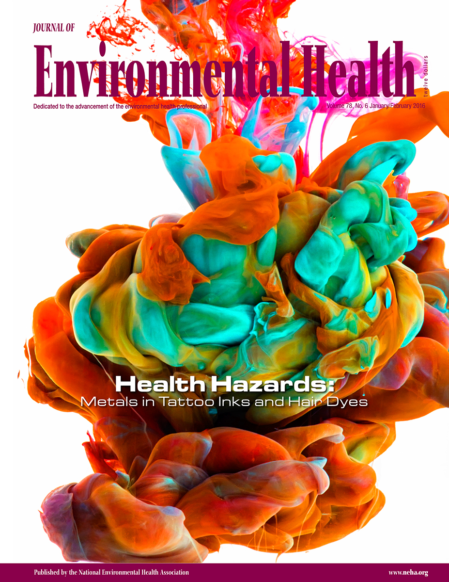 January/February 2016 Issue of the Journal of Environmental Health (JEH)