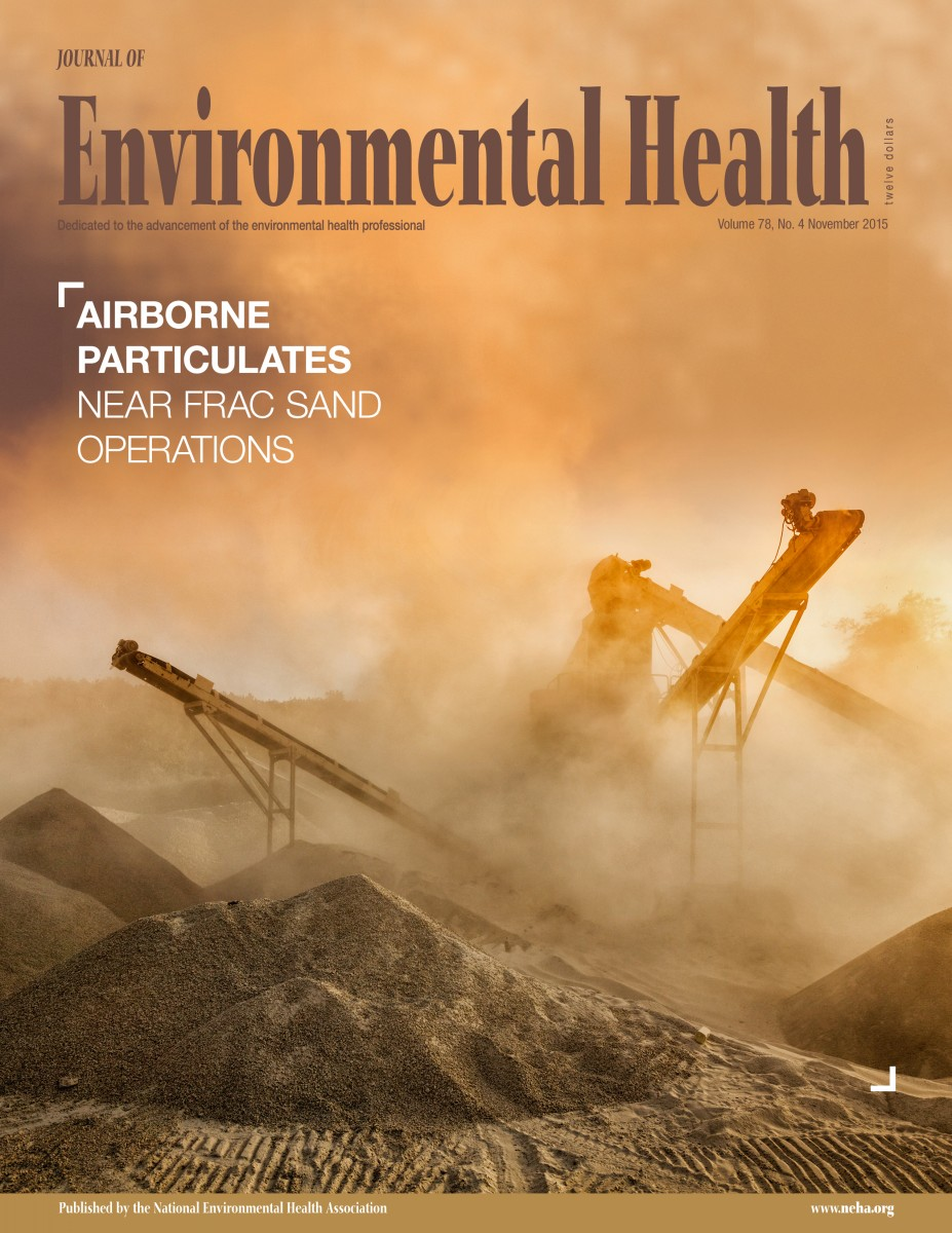 November 2015 issue of the Journal of Environmental Health (JEH)
