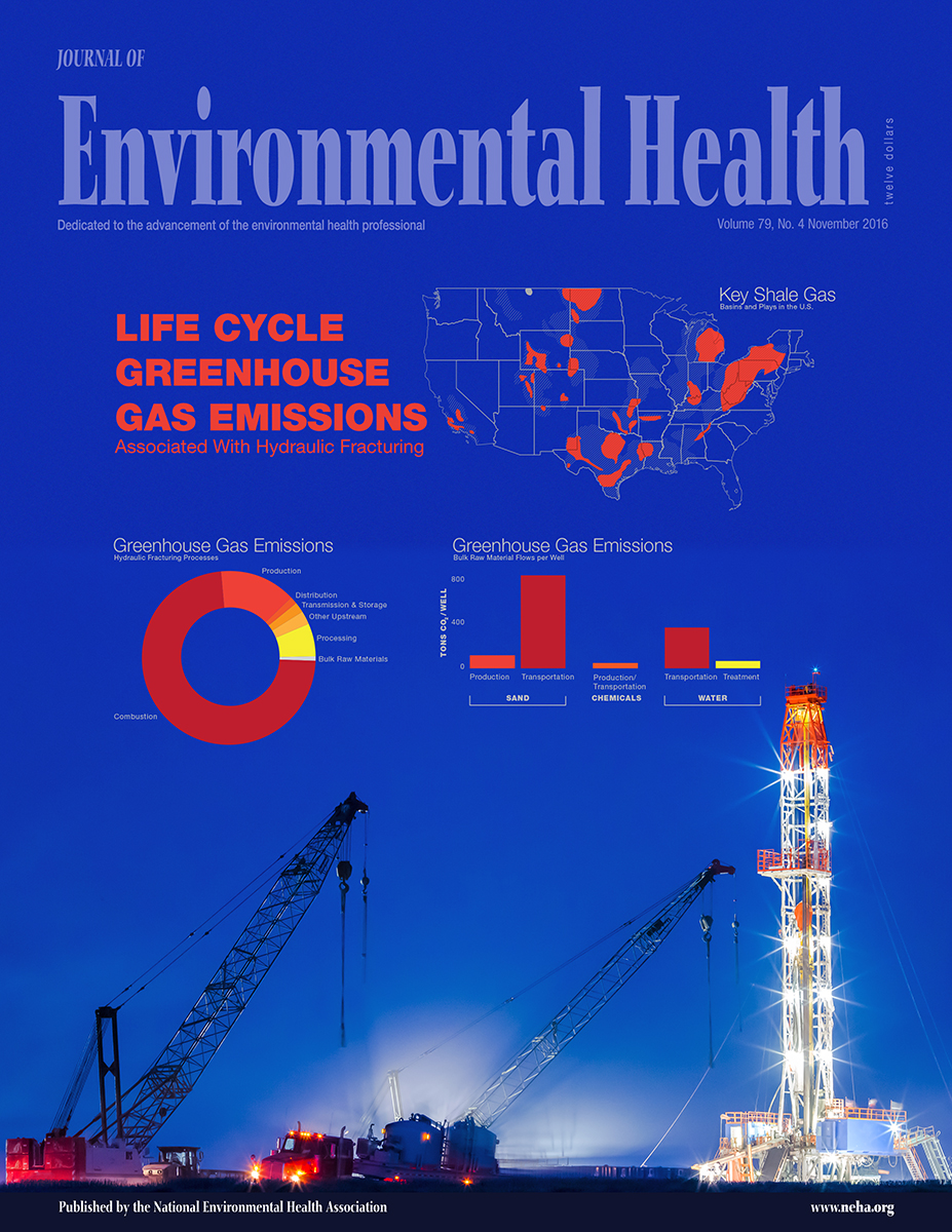 November 2016 issue of the Journal of Environmental Health